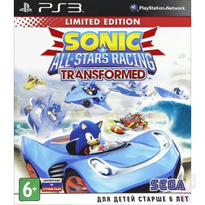 Купить Sonic and All-Stars Racing Transformed Ограниченное издание (Limited Edition) (PS3)