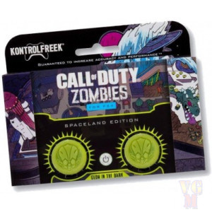 Накладки на стики Kontrolfreek  Spaceland Zombies Edition для Dualshock 4 PS4